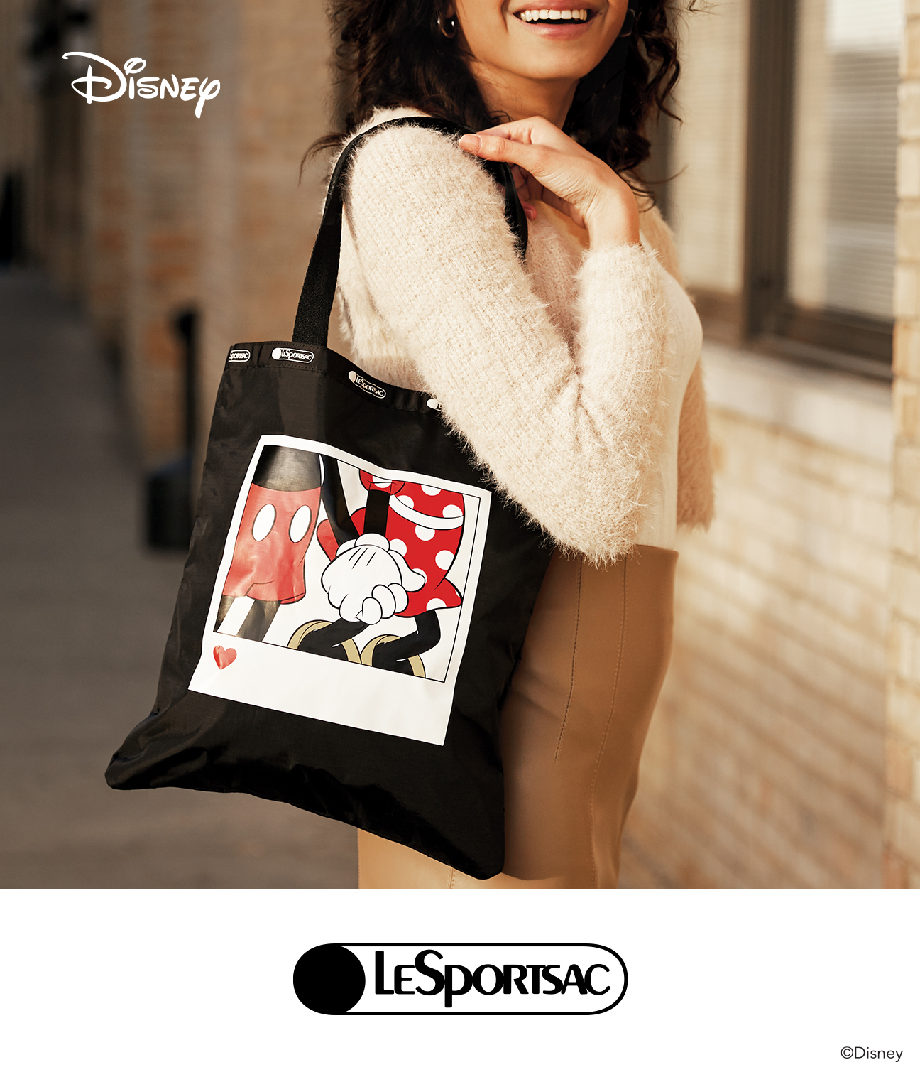 "LeSportsac""2021 Spring Mickey & Friends Collection"""